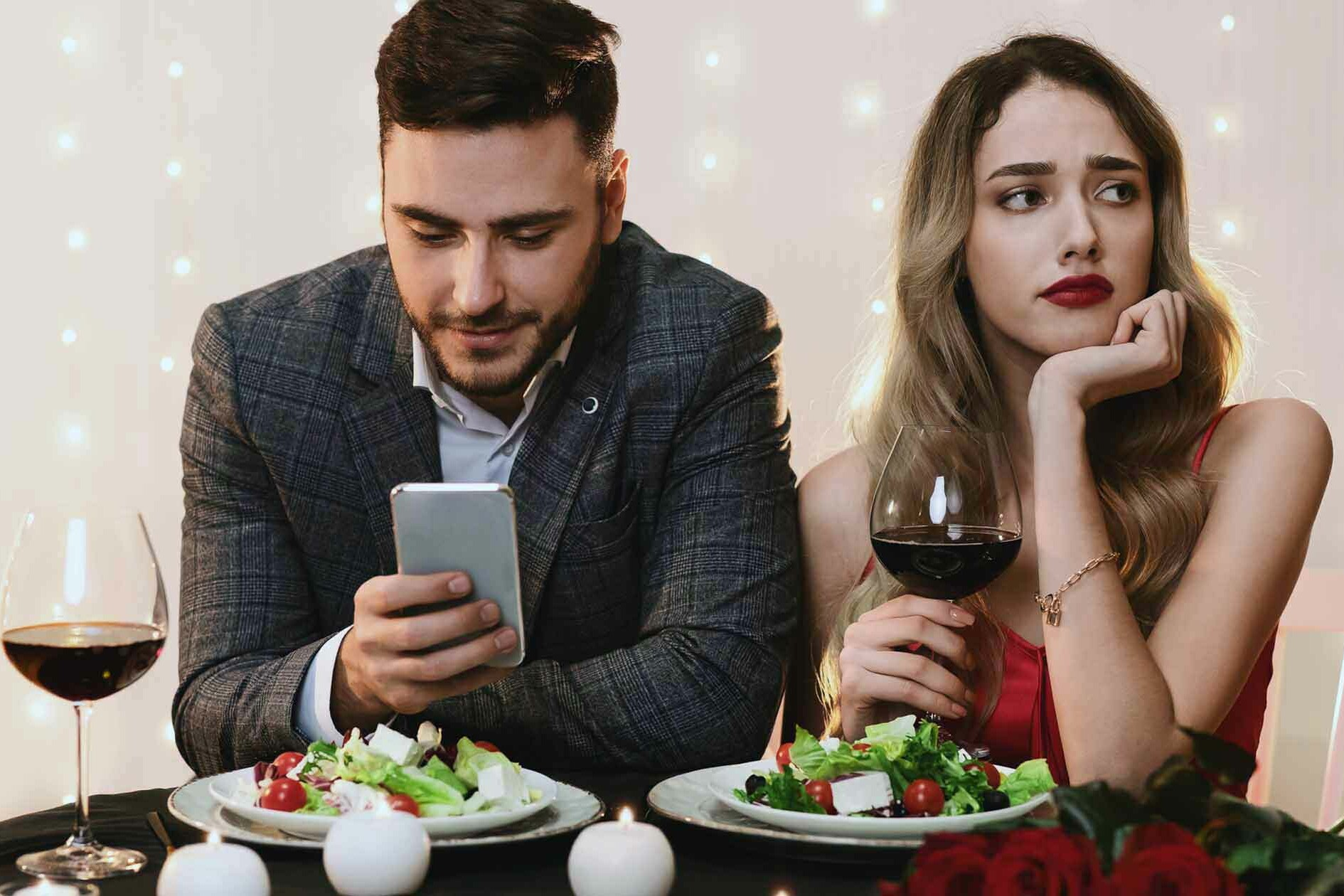 Couple on Date Making Bad First Impressions