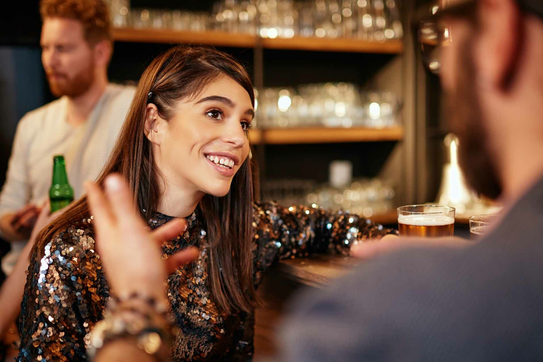 Couple at a Bar - Conversation Starters