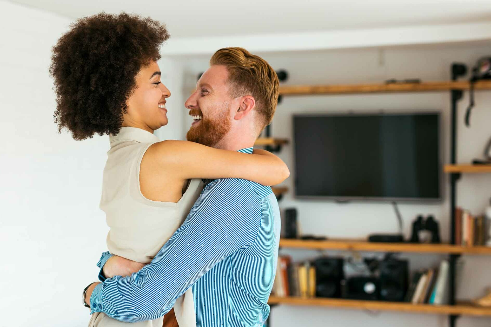 Man & Woman Get Over their Deal-Breakers and Embrace Happily